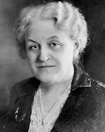 Carrie Chapman Catt (1859-1947) - Suffragette, founder of the League of Women Voters.
