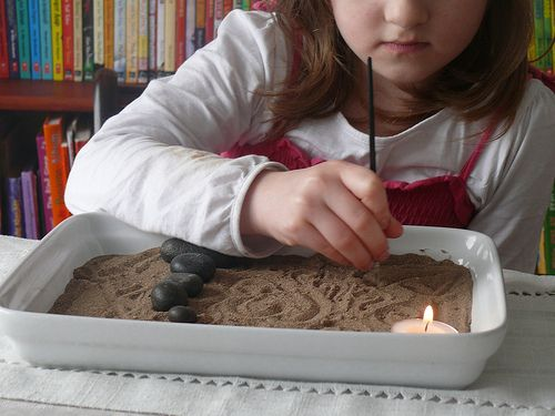 Meditation for Children ~ Miniature Zen Garden - Re-pinned by @PediaStaff – Please Visit http://ht.ly/63sNt for all our pediatric therapy pinsChildrens Calm Garden, Children Meditation, Miniatures Zen Gardens, Meditation Gardens, For Kids, Calm Kids, Meditation For Children, Minis Zen Gardens For Children, Children P1460564