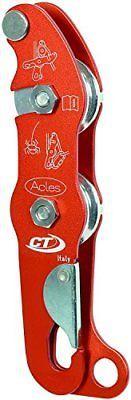 Horolezectví-Technologie-Akles-DX-Belay-zařízení-Potholing-Orange-New-Sport-aludesign