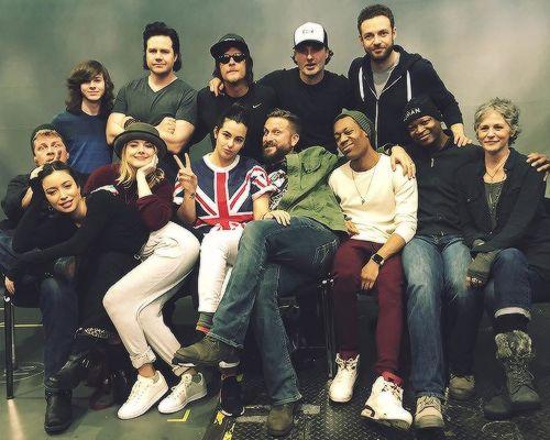 The Walking Dead Cast at Walker Stalker Con London on ...