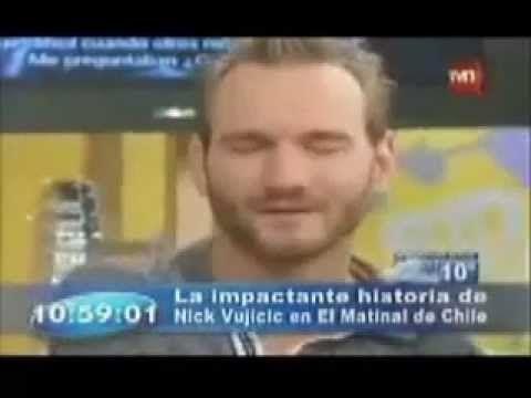 Vujicic habló de Dios a una estrella chilena de TV horas antes de morir