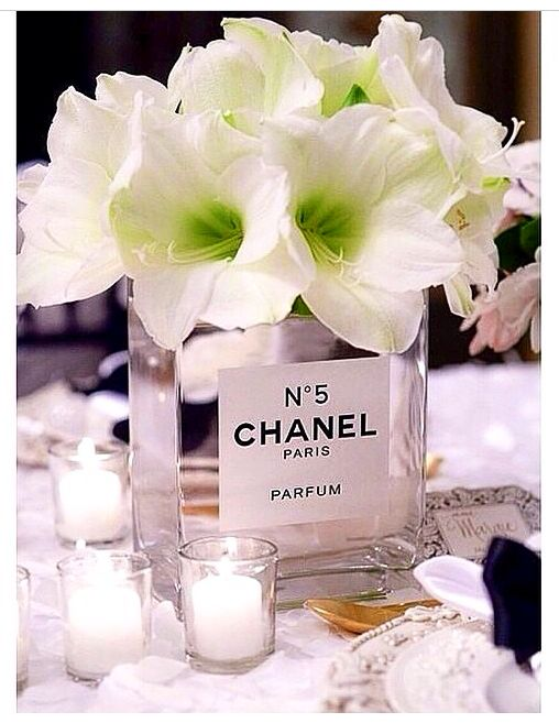 Bridal Shower Table Decor- The Chicest Chicks| Be Inspirational❥|Mz. Manerz: Being well dressed is a beautiful form of confidence, happiness & politeness
