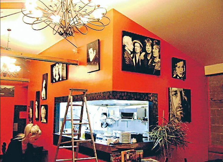Jafa cafe exhibition