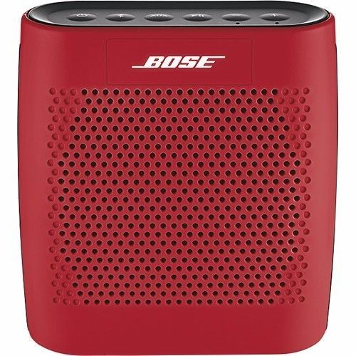 NEW IN BOX! Red Bose SoundLink Bluetooth Wireless Speaker  Price : 110.00  Ends on : 4 weeks  View on eBay