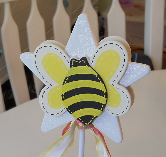Cute Bee Wand For Party Favors