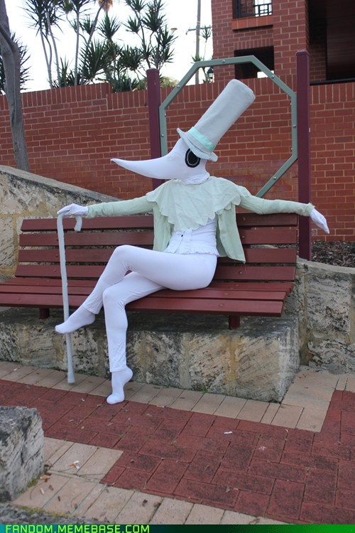 Excalibur cosplay from Soul Eater...apparently, it hates ironing as much as I do.