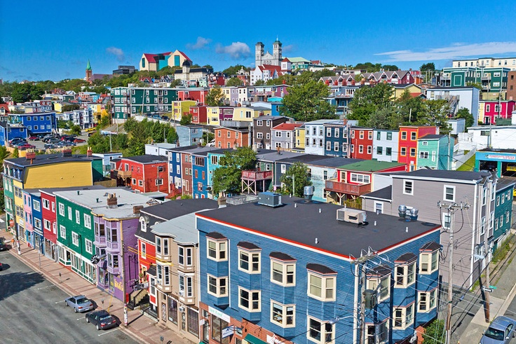 St. John's is colorful and welcoming!