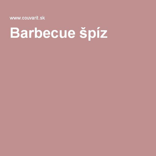 Barbecue špíz