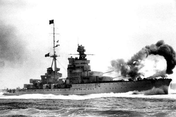 JUL  11 1940 Luftwaffe probe British air defences  The Italian Cruiser Zara at the Battle of Calabria, 9th July 1940. - See more at: http://ww2today.com/