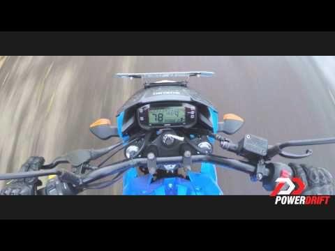 Suzuki Gixxer 0-60 0-100: PowerDrift - YouTube