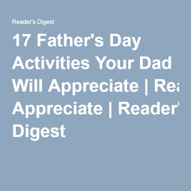 reader's digest father day jokes