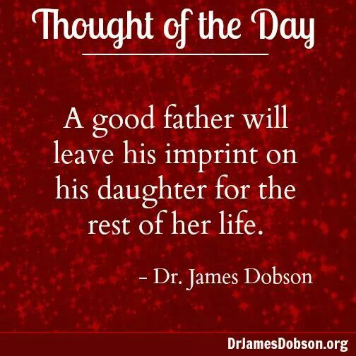 father and daughter relationship messages by pastor