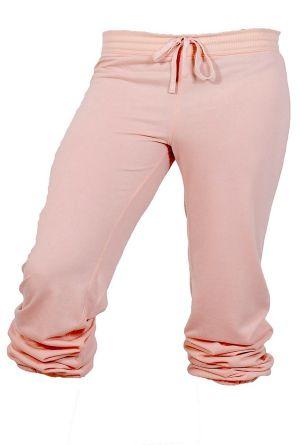 Comfy Scrunch Sweats in Baby Pink