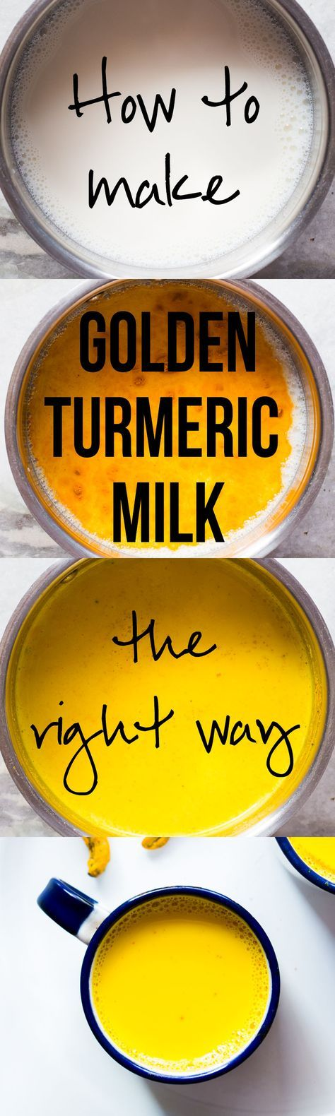 Golden Turmeric Milk or Haldi Doodh is a powerful Ayurvedic Indian drink with medicinal properties. We've been making it for generations and it's so important to make it the right way! It's a great immunity booster when suffering from cold, cough, sore throat, headaches, joint aches etc. It's best when made with milk, but you can use any plant based milk to make it vegan. via @my_foodstory