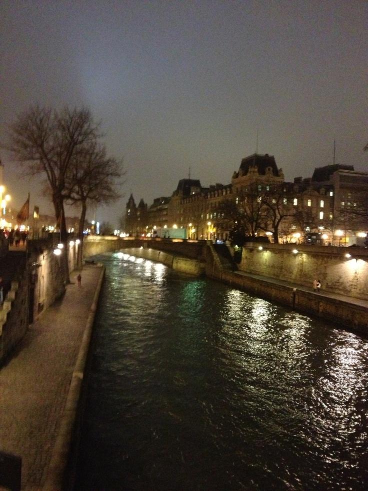 El Sena, Paris
