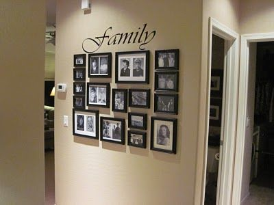 25 best ideas about photo arrangement on pinterest hallway photo galleries wall decor. Black Bedroom Furniture Sets. Home Design Ideas