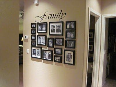 25 best ideas about photo arrangement on pinterest wall frame arrangements decoration. Black Bedroom Furniture Sets. Home Design Ideas