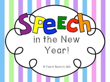 *Feedback is appreciated if you download and like this freebie*Its time to ring in the new year! SLPs know its more fun to SPEECH in the new year though, so this freebie has some activities to start the year off on the right foot!Included:-Student Goal page (pg. 3): refresh your students memories of their goals!-Bowling A Strike in the New Year (pg. 4): this open-end coloring page can be adapted for nearly any goal.