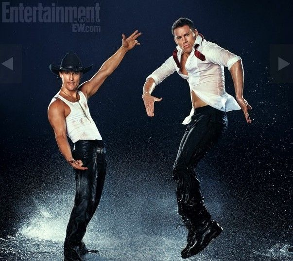 matthew mcconaughy and channing tatum strip it up for magic mike movie