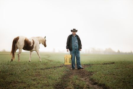 Farmer Hoffman and Firefly Photo by Elle Olivia Andersen -- National Geographic Your Shot