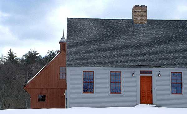 54 best center chimney capes images on pinterest saltbox for Center chimney house plans