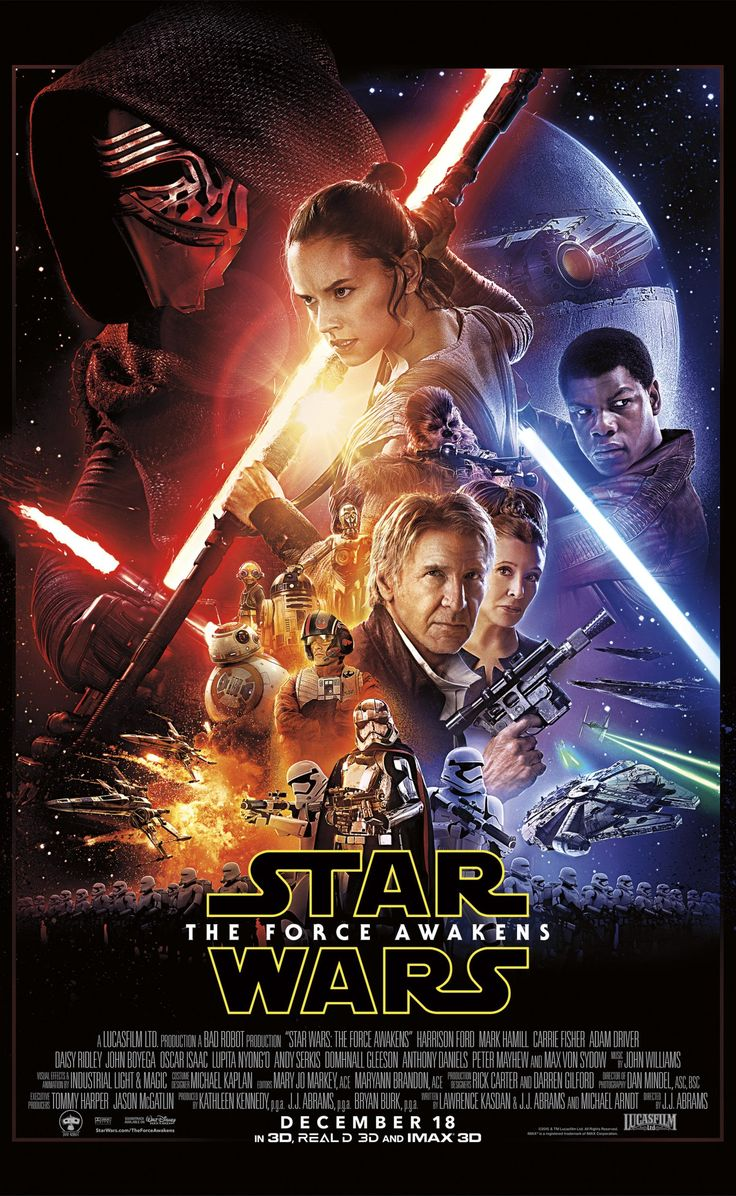 Watch the Movie Star Wars: The Force Awakens For Free and in High Quality
