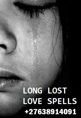Lost love spell will bring your love back to you unconditionally. Even if your love is with someone else then by the power of this spell your love will break his or her relation and will be with you If you still have so much desire for a former sweetheart then you have a lost lover problem  contact Prof Zonke +27638914091 Email : profzonke@gmail.com