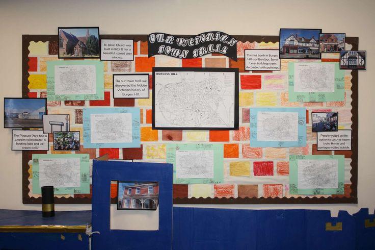 Classroom Display Ideas Victorians : Year victorians classroom d display