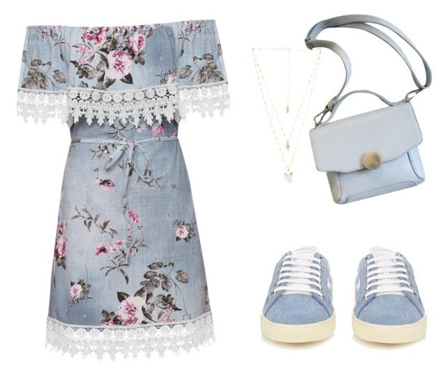 """""""Simple"""" by saryr on Polyvore featuring mode, WearAll, Yves Saint Laurent et Natalie B"""