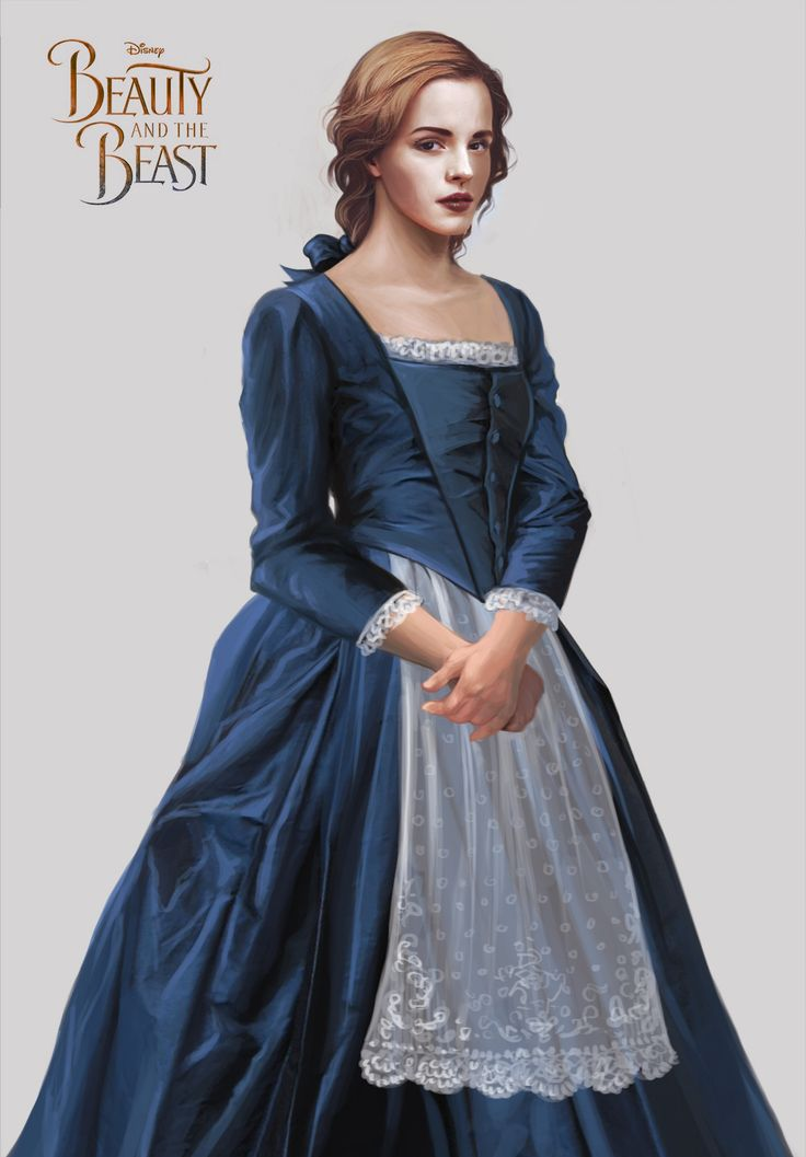 My concept art for Emma Watson as Provincial Belle in the 2017 Beauty and the Beast film. I wanted her to look simple but still beautiful.
