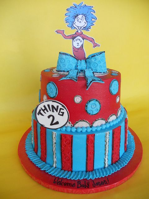 Dr. Seuss Baby Shower Cakes   Google Search