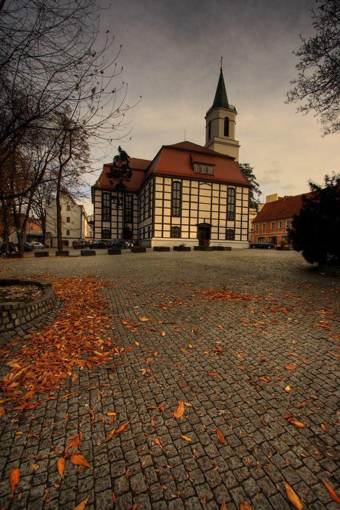 Zielona Gora, Lubuskie Province, Poland, the church I had my 1st communion in