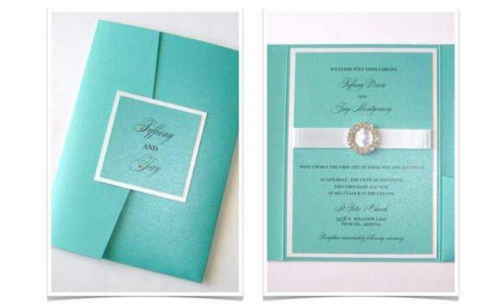 Tiffany Blue Wedding Invitations Kits: All Things Tiffany