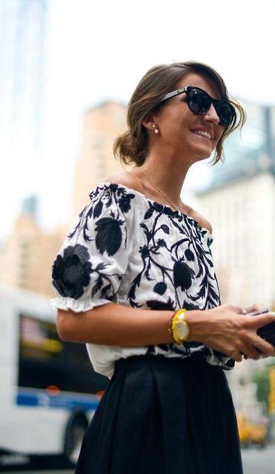 off shoulders, blusa blanca bordada para ocasiones mas especiales.
