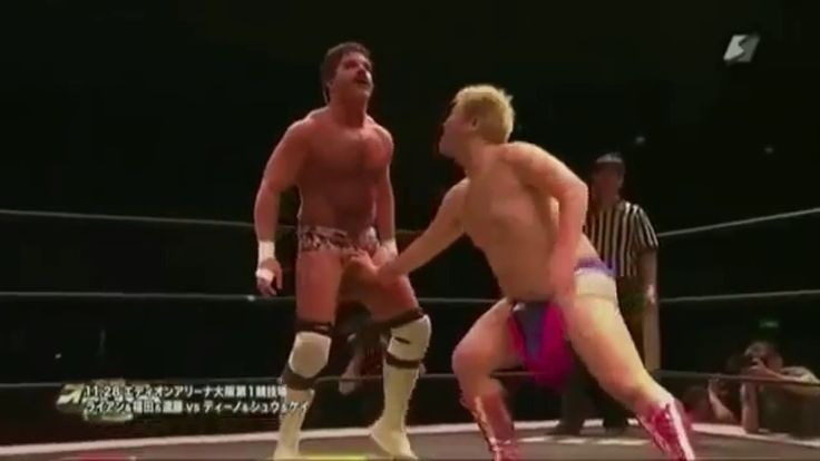 Pro Wrestler Joey Ryan Wins Wrestling Match With Pure Penis Power