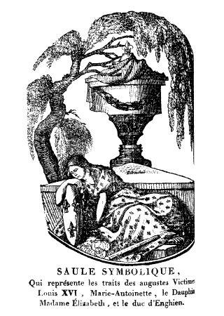 Image séditieuse : urne funéraire avec profils cachés de LouisXVI et Marie-Antoinette, 3