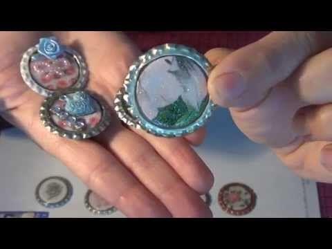 DIY Nespresso: Comment découper une capsule pour faire un pendentif papillon 3D. - YouTube