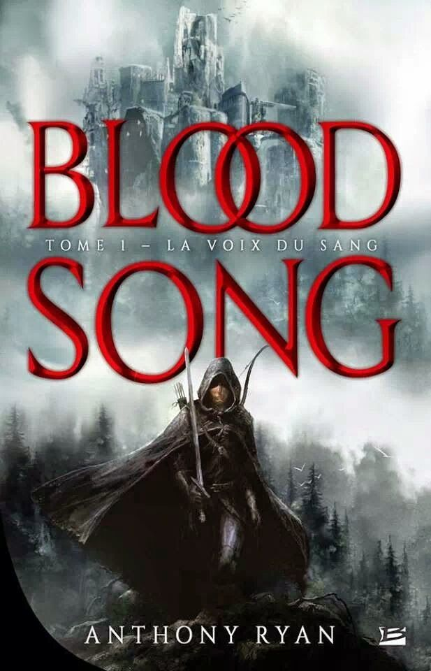 Anthony Ryan: Blood Song | english cover | #cover #book #anthonyryan #bloodsong