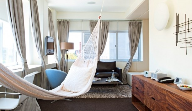 Everything is cooler in Brooklyn! NU Hotel Brooklyn (Brooklyn, New York) - Jetsetter NU Hotel Brooklyn ( Brooklyn, New York ) #JSHammock