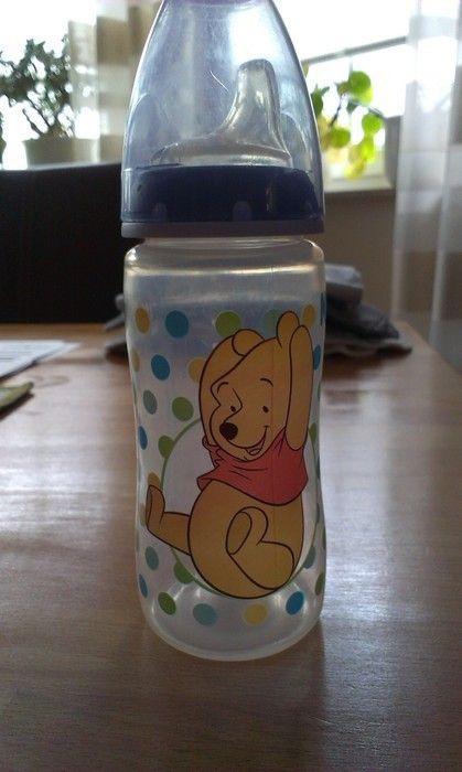 NUK Flasche Fläschchen 300 ml mit Trinktülle Winnie Pooh