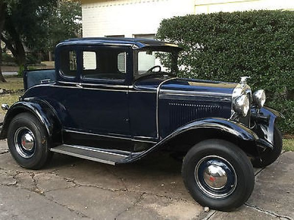 Model A Coupe / Rumble Seat 1930 Model A Ford Coupe