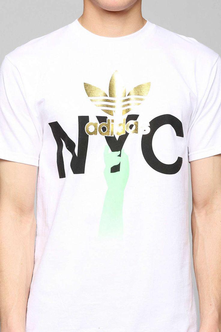 Design a t shirt nyc - Nyc Torch Tee By Adidas Westcoastclothingco Com
