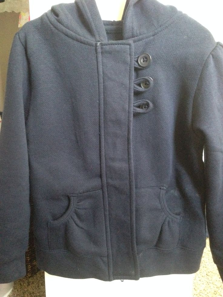 French Toast Navy Blue Hoodie A. Target - $12.99 B. None C. It's a cute and functional hoodie that matches her school uniform, and my daughter likes it!