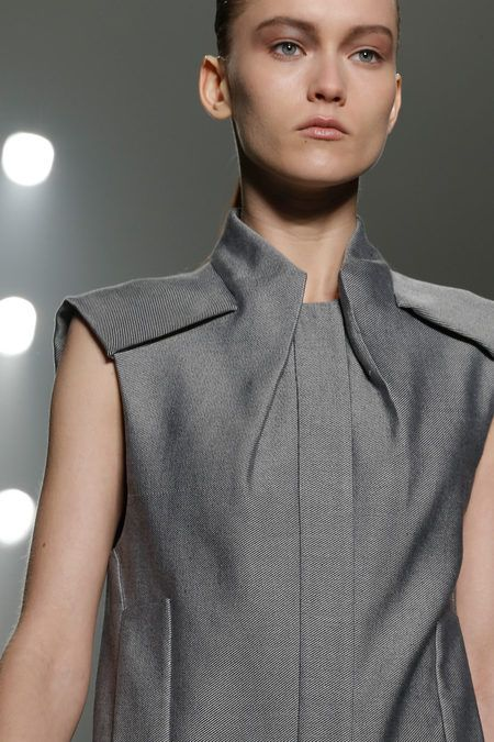 Alexander Wang 2013 rtw  collar detail