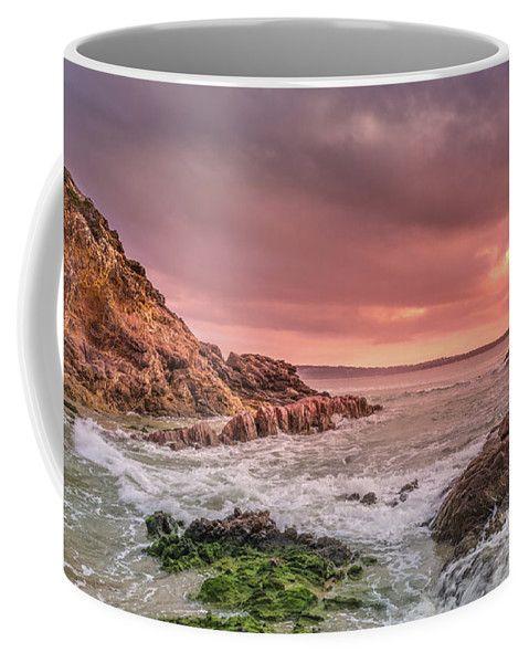 Pambula Coffee Mug featuring the photograph Pambula Rocks by Racheal Christian