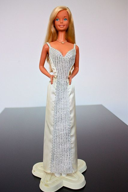 1978 SuperSize Barbie - I LOVED this Barbie! She was much bigger than a regular Barbie.  My Dad surprised me with this one for Christmas one year!