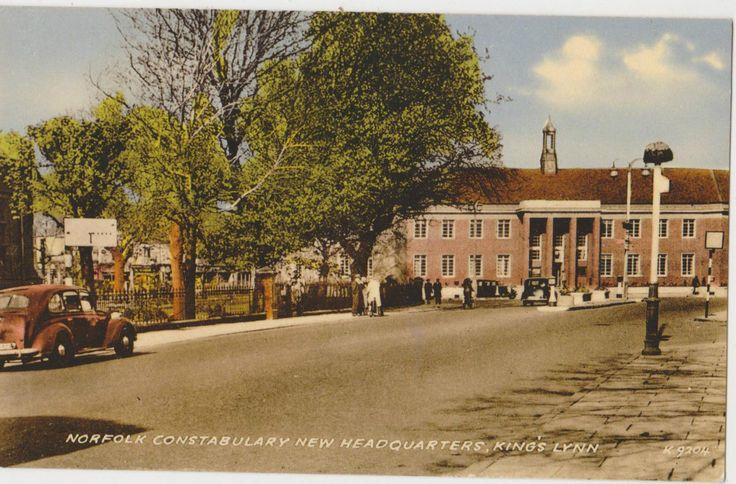 PC NORFOLK CONSTABULARY NEW HEADQUARTERS KING'S LYNN , NORFOLK , C 1948 | eBay