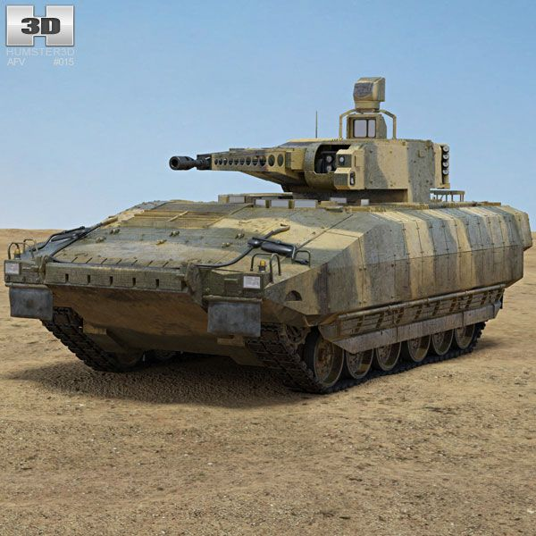 Puma (IFV) 3d model from humster3d.com. Price: $95