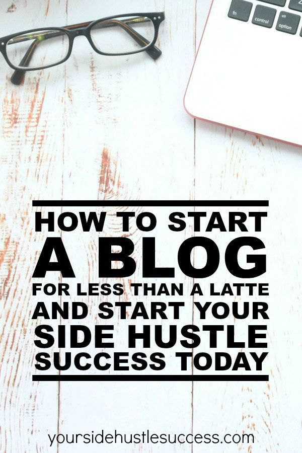 How to start a blog, create your own side hustle and start making extra cash every month.