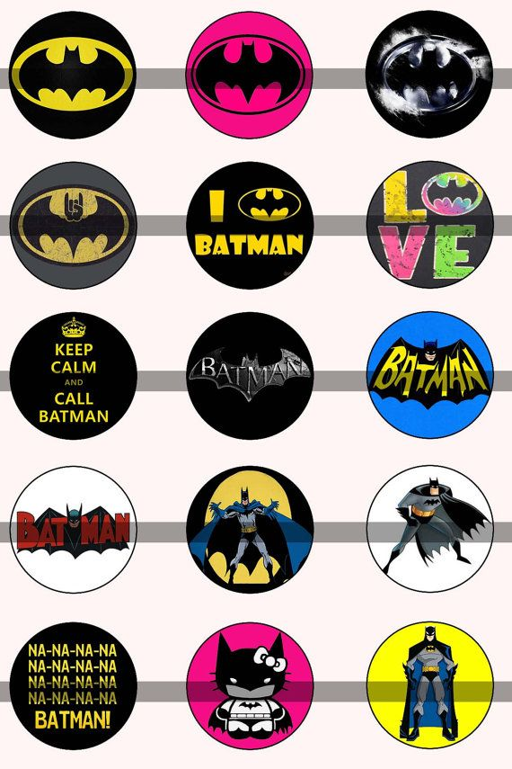 Batman Bottle Cap Images